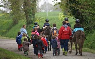 Ferme pédagogique Korrig'âne à Planguenoual